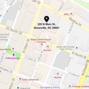 220 N Main Street, Ste 500, Greenville SC 29601